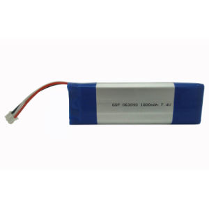 Rechargeable Polymer Li-ion Battery Pack (GSP063093*2)