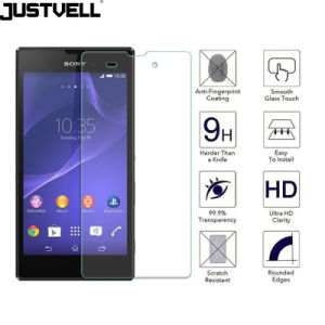 Mobile Phone Tempered Glass Screen Protector for Sony Xperia T3 T2 Xm50th pictures & photos