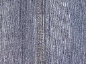 11.5oz CTN/Ply Denim with Blue Black Color