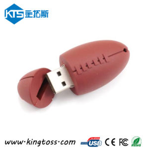 Sport Series Rugby Design PVC USB Flash Disk