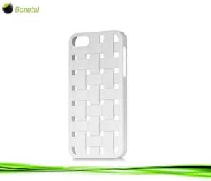 Bias Woven Protector Mobile Phone Cover for iPhone 5 (White)