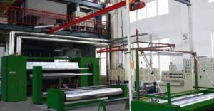 PP Double Die Spunbonded Nonwoven Machinery (02) pictures & photos