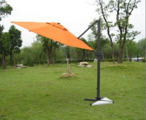 Alu. Roma Offset Heavy Duty Outdoor Umbrellas
