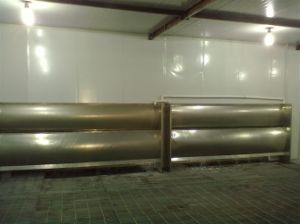 No Pump Water Curtain Spraying Booth pictures & photos