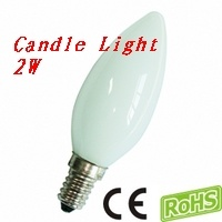LED Candle Light FXC33F-Without Tail 2W