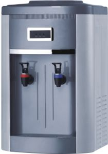 Hot Sale Painted Table/Desktop Water Dispenser with Compressor (XJM-178T) pictures & photos