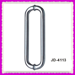 Stainless Steel Door Pull Handle for Glass Door (JD-4113)