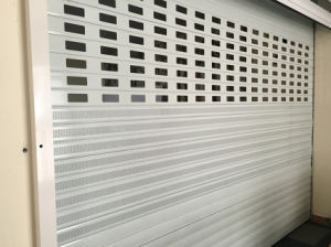 Single Layer Aluminum Rolling Shutter Slat pictures & photos