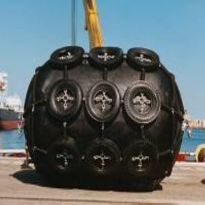 Pneumatic Rubber Fender Used for Ship Docked pictures & photos