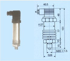 Hydraulic Pressure Transmitter pictures & photos