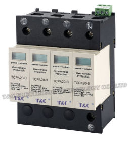 SPD/Power Surge Protector/Surge Arrester (TCPA20-B/4) with TUV Certificate
