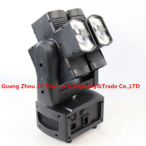 Newest Dual Axis 8PCS 10W RGBW 4in1 LED Hot Wheel Moving Head Light pictures & photos