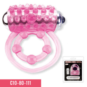 Cock Ring with on/off Bullet Sex Toy (C10-80-111) pictures & photos