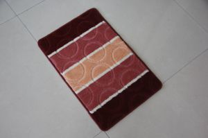 PP Jacquard Bath Rugs, Circles Patterns pictures & photos