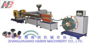 PVC Spiral Steel Wire Reinforced Transparent Hose Production Line