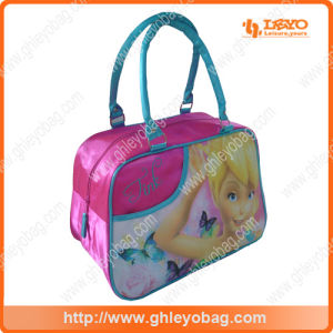 Fashion Designer Pink Cute Angel Travel Bag for Kids School Girls