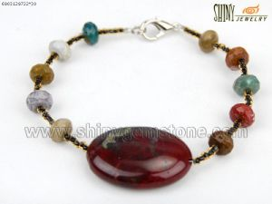 Bracelet Dinosaur Stone Beads