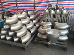 Duplex Steel Pipe Press Fitting 90 Degree Equal Elbow