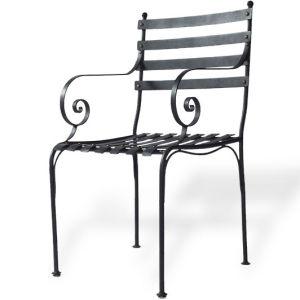 Wrought Iron Chair (XJ007)