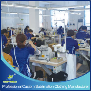 Custom Sublimation Men′s 2 Ply Reversible Lacrosse Jersey pictures & photos