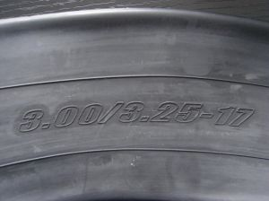 Inner Tube/Motorcycle Tube 3.00/3.25-17 4.10-18 2.75-21 pictures & photos