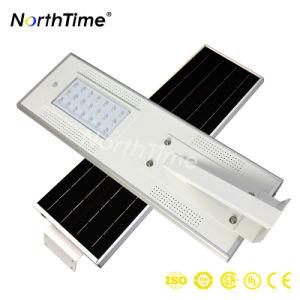 20W Bridgelux LED Solar Street Light with Phone APP Control pictures & photos
