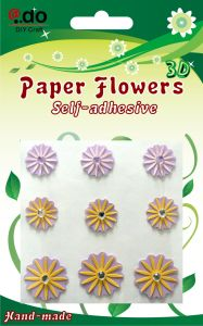 Paper Flower Stickers (FM-06)