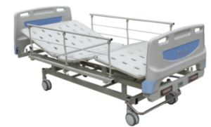 (CA-01106-C) Manual Double-Crank Hospital or Medical Sickbed