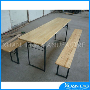 Outdoor Furniture Solid Wood Portable Table pictures & photos