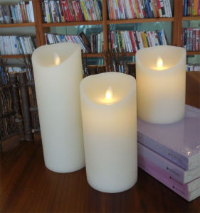 Moving Flameless LED Candles with Timer