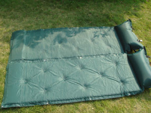 Self-Inflatable Mat, Military Mat, Green Self-Inflatable Mat (HWF-110) pictures & photos