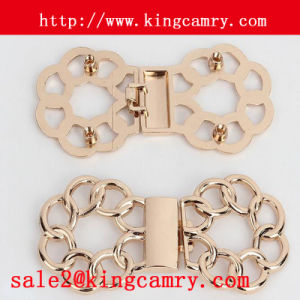 Lady′s Waist Belt Buckles Clasp Buckles Pair Buckle Interlocking Buckle Garment Buckle pictures & photos