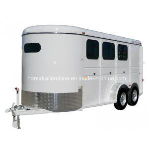 3 Horse Trailer Angel Load Standard with Reasonable Price pictures & photos