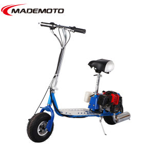 43cc 2-Stroke Folding Gas Scooter pictures & photos