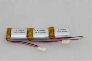 3.7V 320mAh Rechargeable Li-ion Polymer Battery with Un38.3 Test Report pictures & photos
