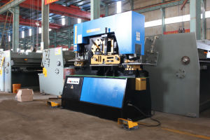 Q35y-25 Hydraulic Ironwoker with Notching, Bending, Punching, Shearing, Angle Cutting pictures & photos