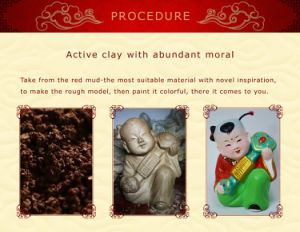 Classic Handicraft Colorful Clay Fengshui pictures & photos