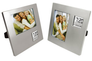 Table Digital Photo Frame Clock pictures & photos