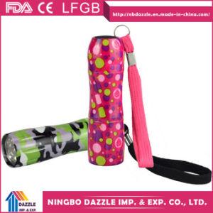 Wholesale Colored Aluminium Mini 9 LED Flashlight Torch pictures & photos