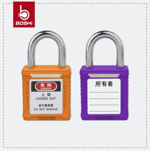 25mm Shackle Length Safety Padlock (BD-G51) pictures & photos
