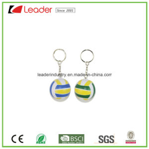 E-Friendly PVC Volleyball Key Chains pictures & photos