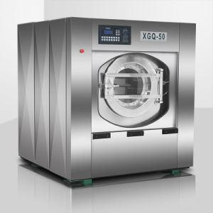 Laundry Machine/Front Loading Automatic Washer Extractor (XGQ) with CE and ISO pictures & photos