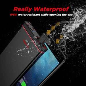 IP67 Waterproof 10000mAh Power Bank with Flashlight Outxe pictures & photos