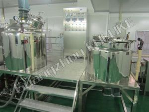 Flk Ce 5-5000L Vacuum Emulsifying Equipment for Cream pictures & photos