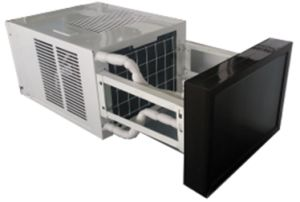 Save Power Window Mounted Type Hybrid Solar Air Conditioner pictures & photos