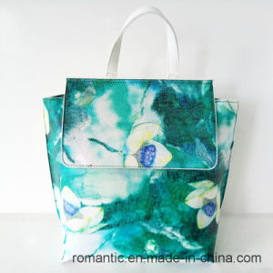 Brand Designer Stylish Women Leather Printing Handbags (NMDK-042702) pictures & photos
