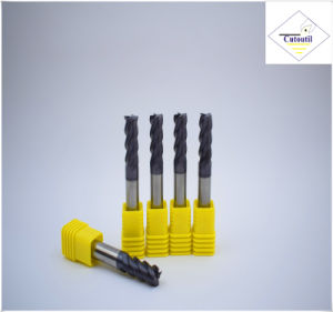 Cutoutil  4 Teeth 35° Helix Cut Steel D16 45*100*16 Solid Carbide End Mills Tools pictures & photos