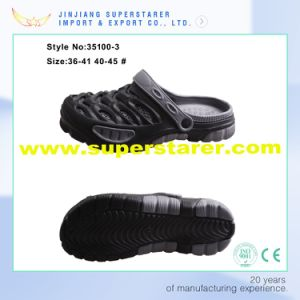 Stylish Man EVA Beach Clogs with Fashion Design Support Customization pictures & photos