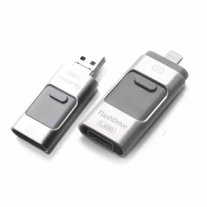 Factory Price 8GB 16GB 32GB 64GB OTG USB Flash Drive for iPod/iPhone/iPad/PC/Android Phone pictures & photos