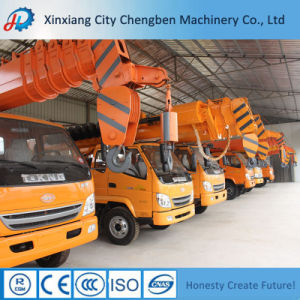 Truck Crane 10 Ton Truck Crane with Spiral Drill pictures & photos